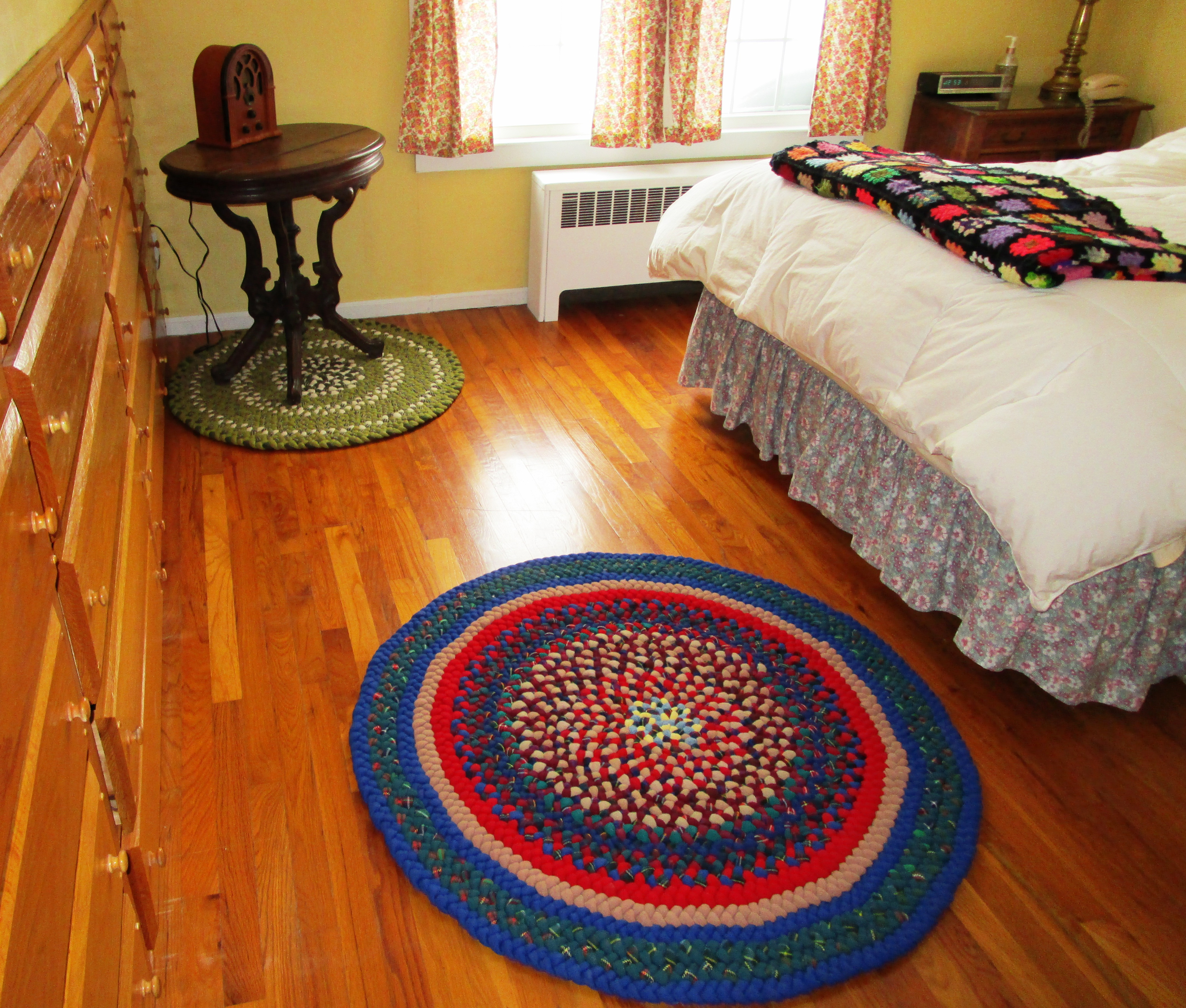 Be Happy For Snow: A Good Way To Clean Rugs!