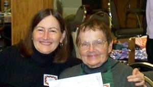 Dianne with Loretta Zvarick