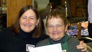 Dianne with Loretta Zvarick