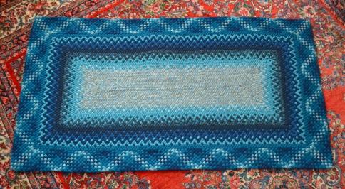 13-strand braid around rectangle.