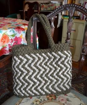 4-Strand Spiral Tote Bag