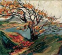Emily Carr's Painting Autumn Trees